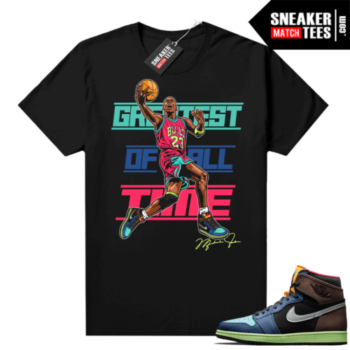 Shirts to match Jordans 1 Biohack