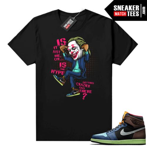 Air Jordan 1 sneaker tees Biohack