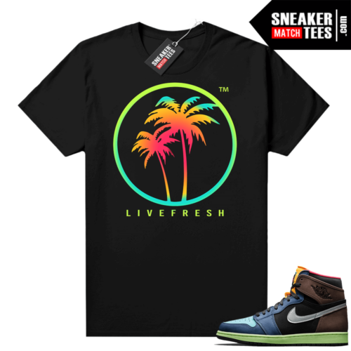 Jordan 1 Biohack graphic tees