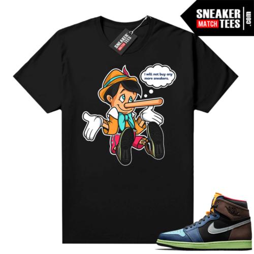 Jordan 1 Biohack sneaker tees shirts No More Sneakers