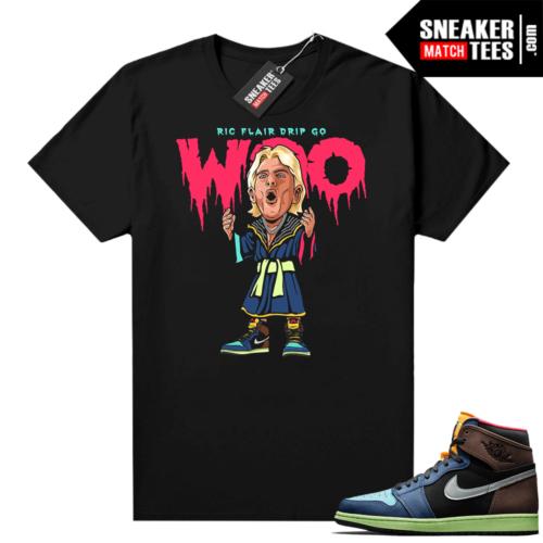 Jordan 1 Biohack sneaker tees shirts Ric Flair Drip