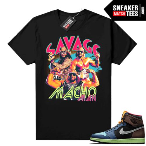 Jordan match sneaker tee Biohack 1s