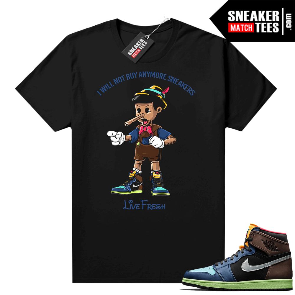 Sneaker shirts Jordan 1 Biohack