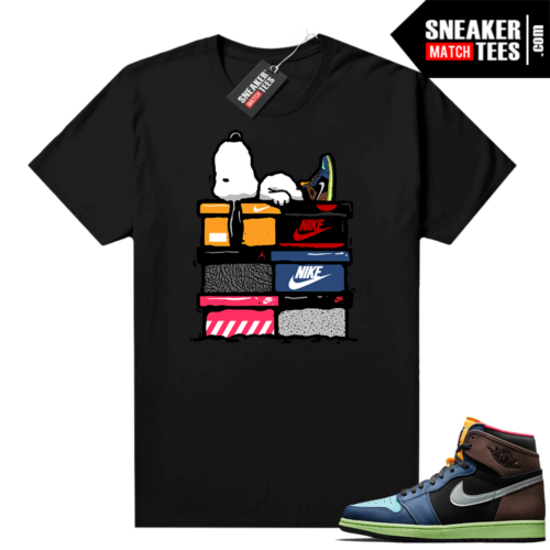 Sneaker shirts Biohack 1s