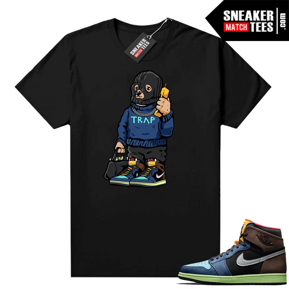 Jordan 1 Biohack sneaker tees shirts Trap Bear