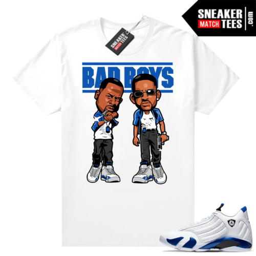 Hyper Royal 14s shirt outfit