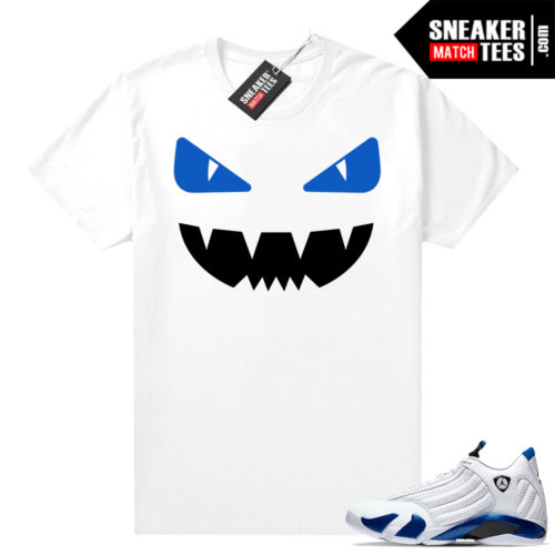 Hyper Royal 14s matching shirts