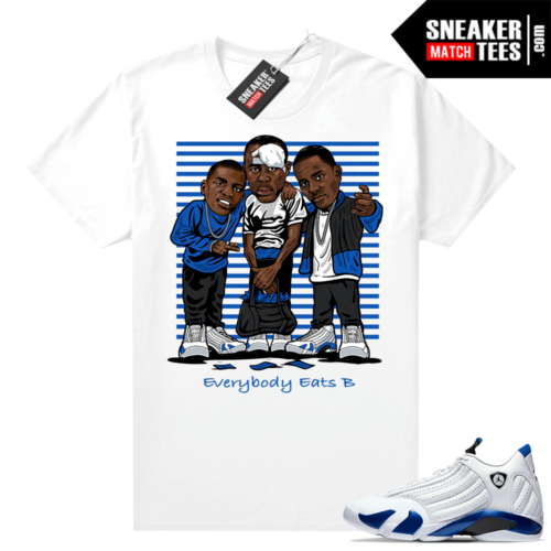 Sneaker shirts Hyper Royal 12s