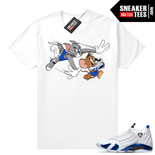 Sneaker shirts Jordan 12 Hyper Royal