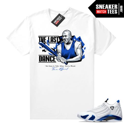 Jordan sneaker shirts Hyper Royal 12s