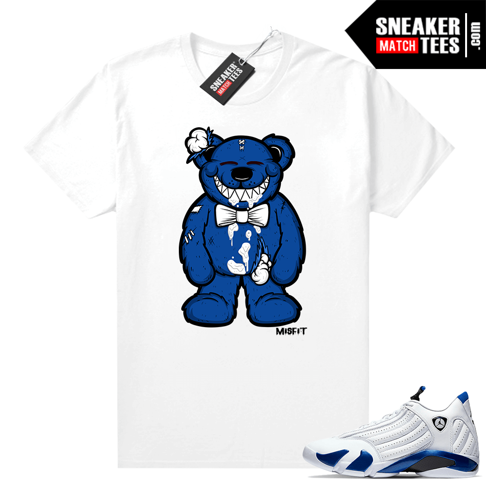 Sneaker Match Jordan 14 Hyper Royal tees