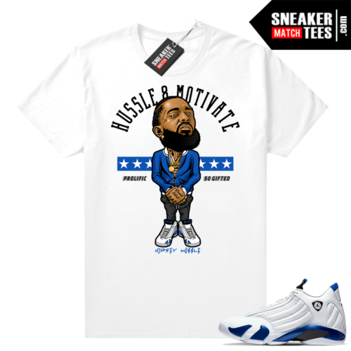 Sneaker Match Jordan 14 Hyper Royal
