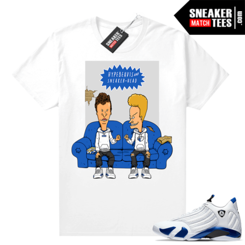 Sneaker Match Hyper Royal 14s