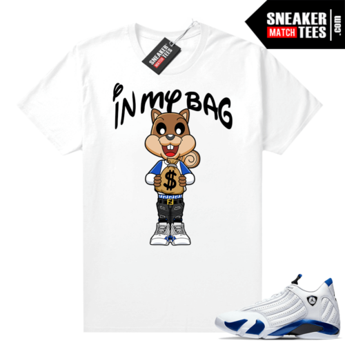 Jordan 14 Hyper Royal tees
