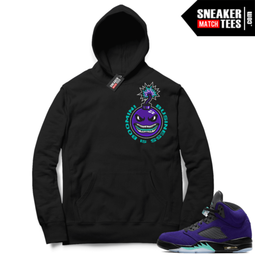 Alternate Grape 5s Hoodie outfit