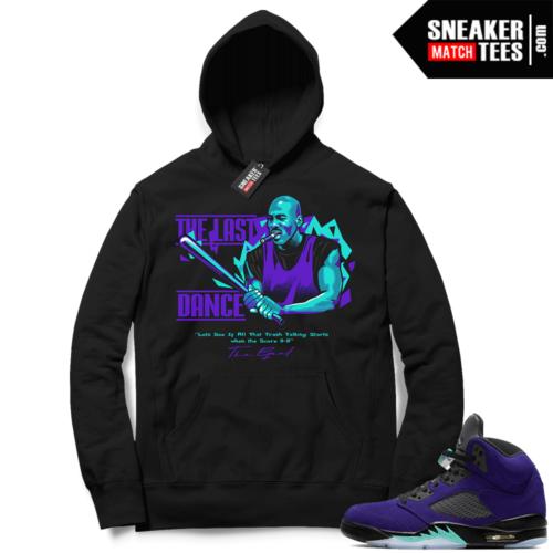 Sneaker Match Alternate Grape 5s Hoodie