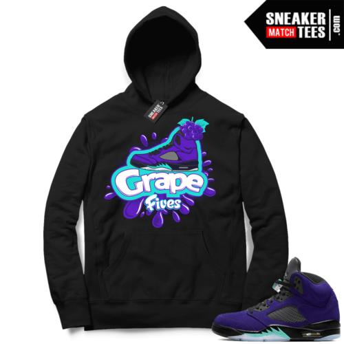 Sneaker Match Jordan Alternate Grapes Hoodie