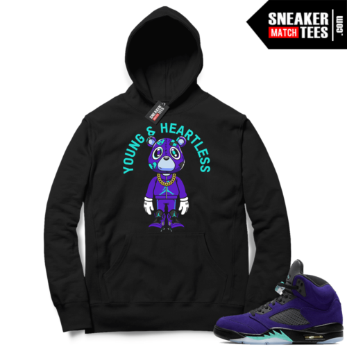 Jordan match Hoodies Alternate Grape 5s