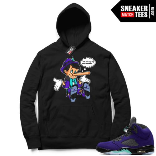 Alternate Grape Jordan match Hoodies