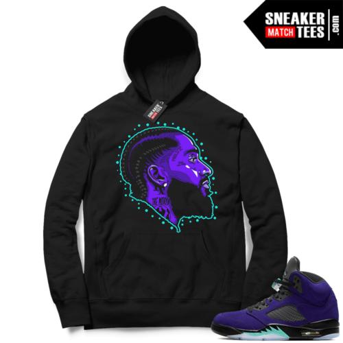 Hoodies to match Jordans 5 Alternate Grape