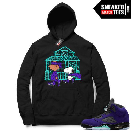 Alternate Grape 5s Hoodies to match sneakers