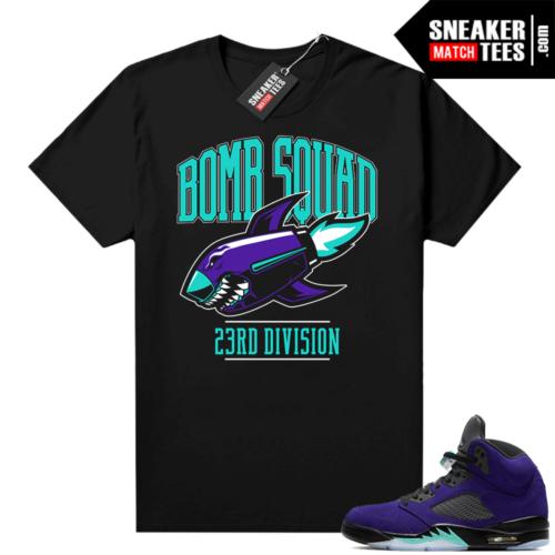 Shirts to match Jordans 5 Alternate Grape