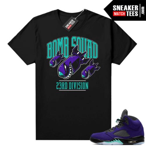 Jordan 5 shirts Alternate Grape
