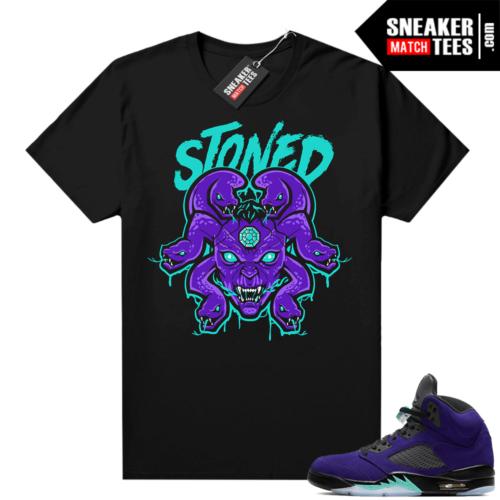 Jordan 5 Alternate Grape sneaker outfits