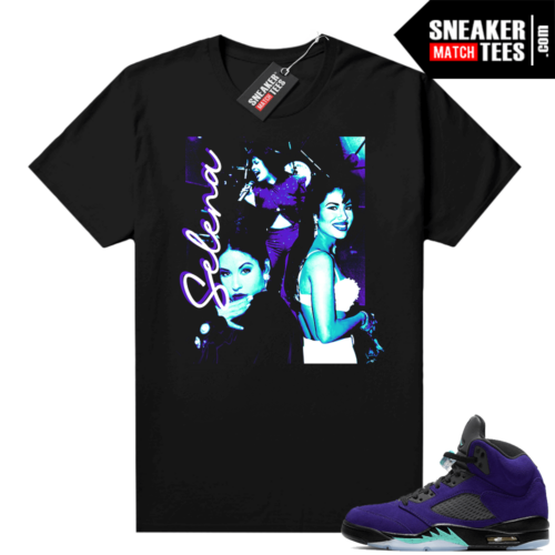 Alternate Grape 5s Jordan shirt