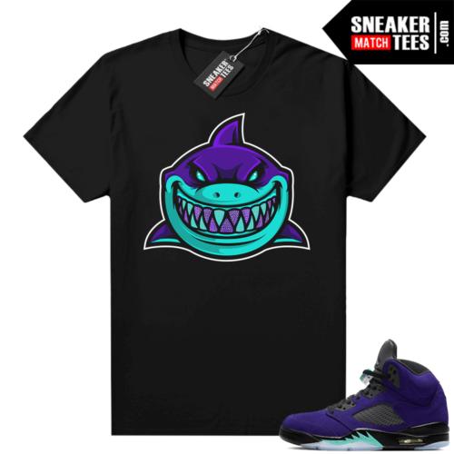 Jordan retro 5 Alternate Grape shirts