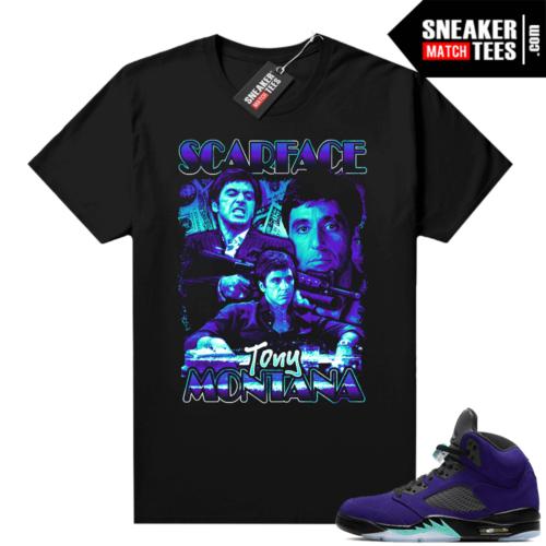 Sneaker shirt to match Alternate Grape 5s