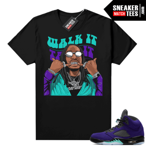Sneaker tees to match Alternate Grape 5s