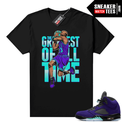 Sneaker Match Jordan 5 Alternate Grape