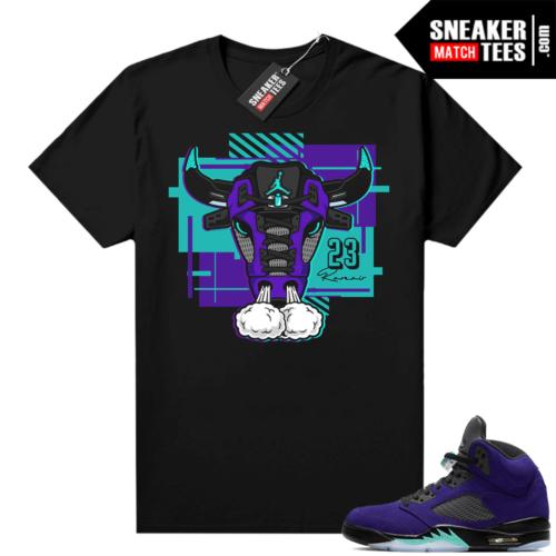 T shirt to match Alternate Grape 5s