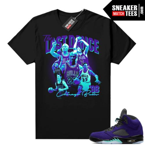 Alternate Grape Jordan 5 shirts