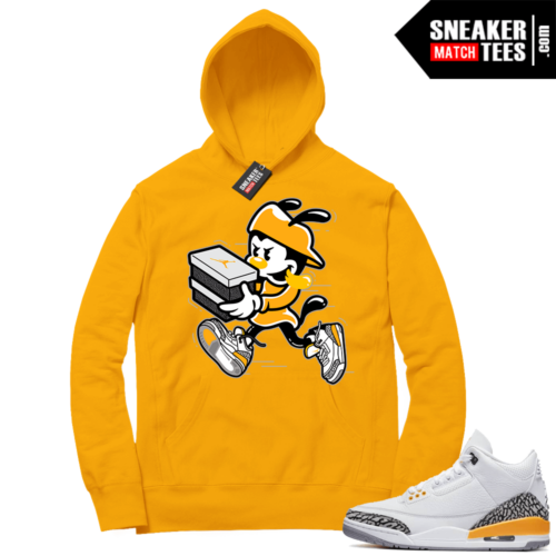 Laser Orange 3s sneaker Hoodies