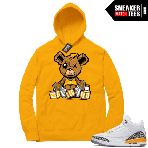 Laser Orange 3s sneaker Hoodie outfits