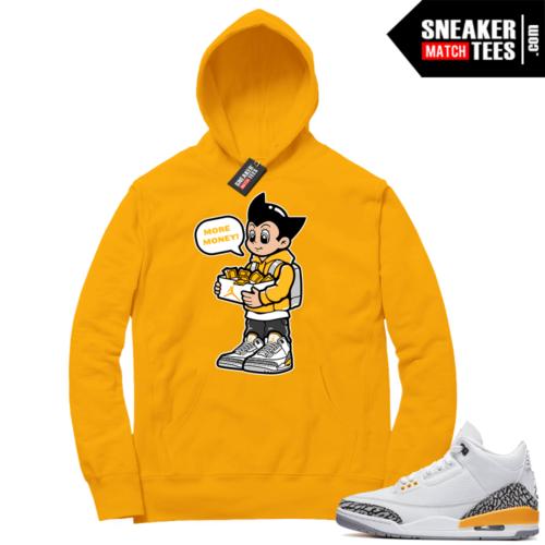 Laser Orange 3s sneaker Hoodie