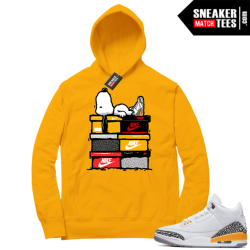 Sneaker Hoodies Laser Orange 3s