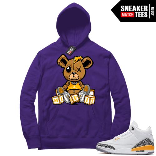 Jordan 3 Laser Orange Sneaker Hoodie