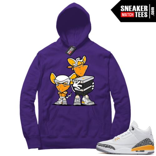Sneaker Match Jordan Laser Oranges Hoodie