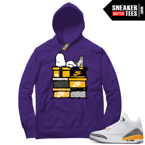 Sneaker Match Jordan 3 Laser Orange Hoodies