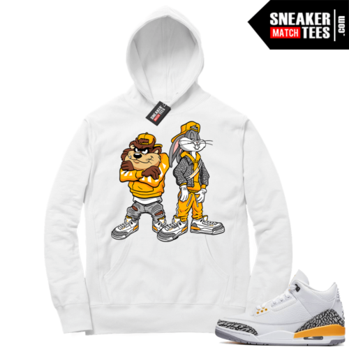 Jordan match Hoodies Laser Orange 3s