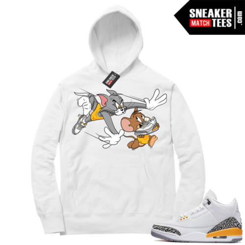 Jordan match sneaker Hoodie Laser Orange 3s