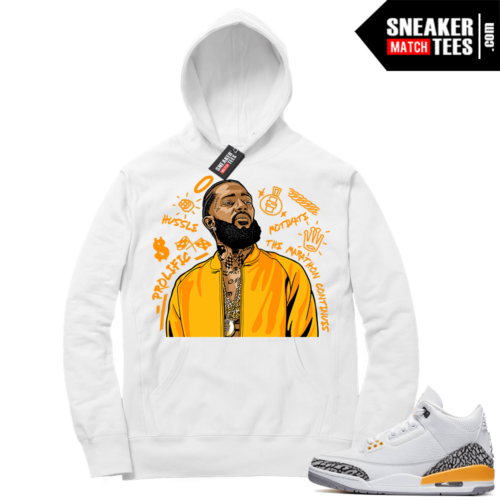 Sneaker Hoodies Jordan 3 Laser Orange