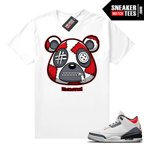 Misunderstood Bear ™ Denim 3s Match Tees White