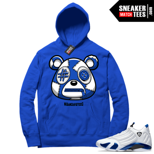 Misunderstood Bear ™ Hyper Royal 14s Hoodie Royal