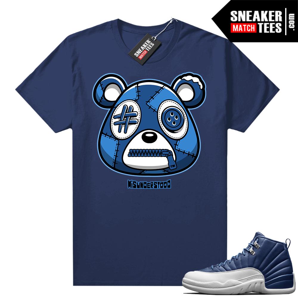 Misunderstood Bear ™ Indigo 12s Match Tees Navy