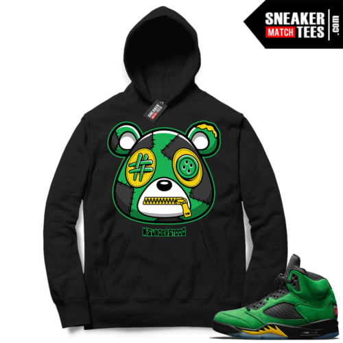 Misunderstood Bear ™ Oregon 5s Hoodie Black