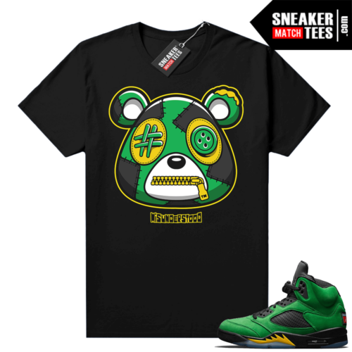 Misunderstood Bear ™ Oregon 5s Match Tees Black